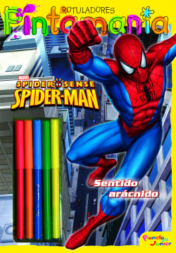 Spiderman. Pintamanía Rotuladores