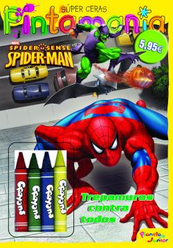 Spiderman. Pintamanía Súper Ceras
