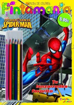 Spiderman. Pintamanía Lápices de colores