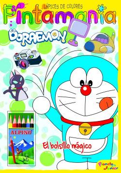 Doraemon. Pintamanía Lápices de colores