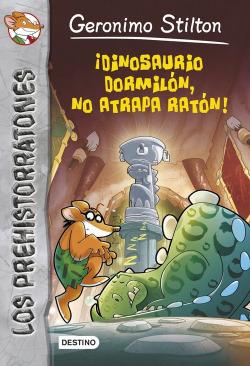 Dinosaurio dormilón, no atrapa un ratón!