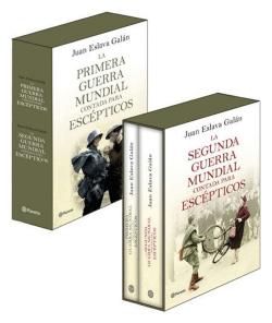 Pack de la primera y segunda guerra mundial contada para escepticos