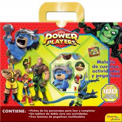 Power Players. Maletín de cuentos, actividades y pegatinas