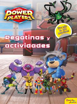 Power Players. Pegatinas y actividades