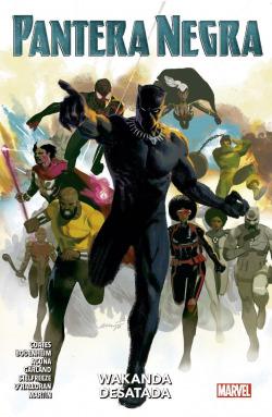100% Marvel coediciones pantera negra. wakanda destada 4