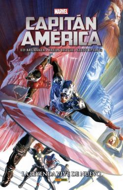 Marvel integral capitán américa. la leyenda vive de nuevo