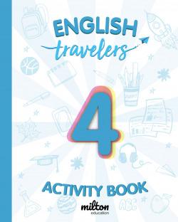 Travelers Blue 4 Activity Book - English Language 4 Primaria