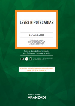 Leyes Hipotecarias 24ª Ed. 2020