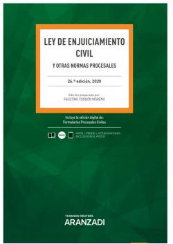 Ley de Enjuiciamiento Civil 26ª Ed. 2020