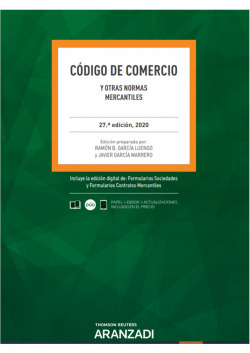 Código de Comercio y otras Normas Mercantiles 27ª Ed. 2020