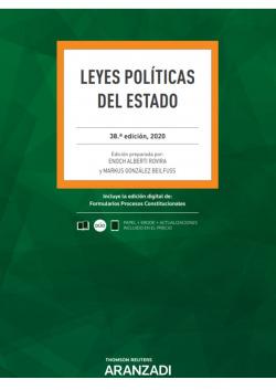 Leyes Políticas del Estado 38ª Ed. 2020