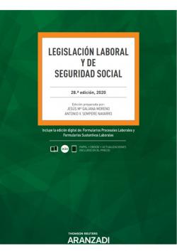 Legislación Laboral y de Seguridad Social 28ª Ed. 2020