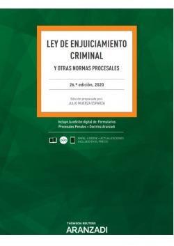 Ley de Enjuiciamiento Criminal 26ª Ed. 2020