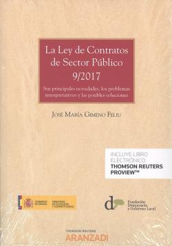 LEY DE CONTRATOS SECTOR PÚBLICO 9/2017
