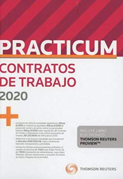 Practicum contratos de trabajo (Papel + e-book)