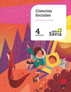 Ciencias sociales. 4 Primaria. Más Savia. Asturias