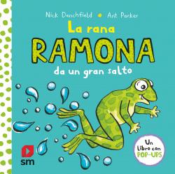 La rana Ramona da un gran salto