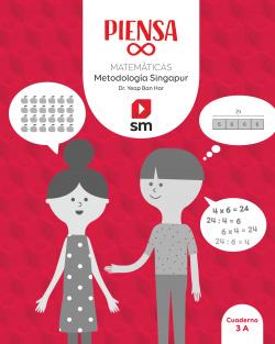 Piensa [infinito]. Metodología Singapur. 3 Primaria