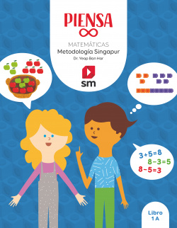 Piensa [infinito]. Metodología Singapur. 1 Primaria. Libro