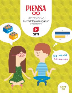 Piensa [infinito]. Metodología Singapur. 2 Primaria. Libro