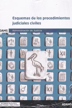 ESQUEMAS DE LOS PROCEDIMIENTOS JUDICIALES CIVILES