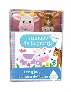 LIBRO BAÑO AMIGOS DE GRANJA LEE Y JUEGA