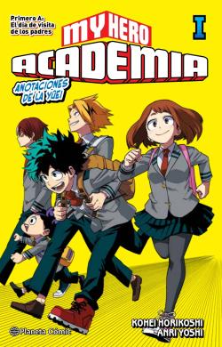 My Hero Academia nº 01 (novela)