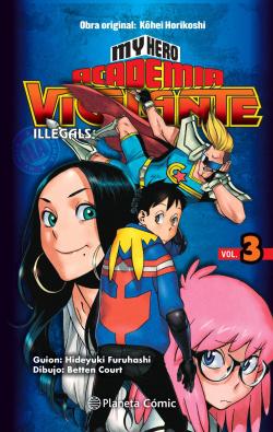 My Hero Academia Vigilante Illegals nº 03