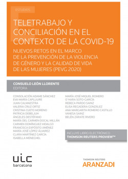 Teletrabajo y conciliación en el contexto de la COVID-19 (Papel +
