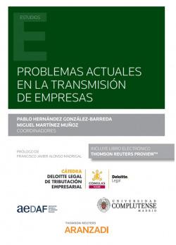 Problemas actuales en la transmisión de empresas (Papel + e-book)