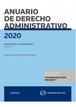 Anuario de Derecho Administrativo 2020 (Papel + e-book)