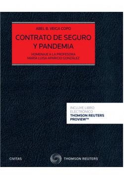 Contrato de seguro y pandemia (Papel + e-book)