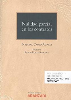 Nulidad parcial en los contratos (Papel + e-book)