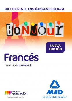 BONJOUR PROFESORES DE ENSEÑANZA SECUNDARIA FRANCES