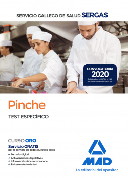 Pinche del Servicio Gallego de Salud. Test específico