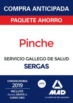 Compra anticipada Paquete Ahorro Pinche del Servicio Gallego de Salud. Ahorra 55