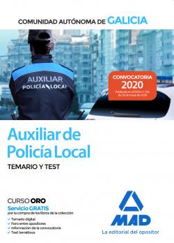 Auxiliar de la Polic¡a Local de la Comunidad Autónoma de Galicia.