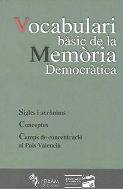 VOCABULARI BASIC DE LA MEMORIA DEMOCRATICA