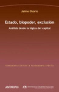 Estado biopoder exclusion