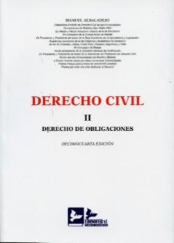 Derecho de obligaciones(II).(14ªED)
