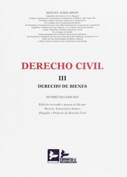 Derecho civil tomo III