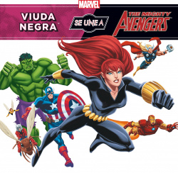 Viuda negra se una a the mighty avengers