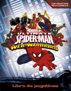 Libro de pegatinas spiderman
