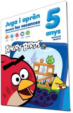 Angry birds 5 anys. Juga i apren