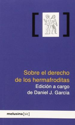 SOBRE EL DERECHO DE LOS HERMAFRODITAS