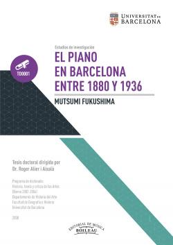 EL PIANO EN BARCELONA ENTRE 1880-1936