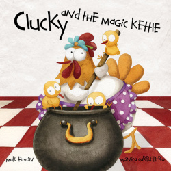Clucky and the magic kehie