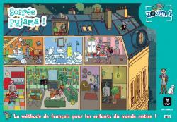 ZOOM 1.(PACK 7 POSTERS) FRANCAIS ENFANTS MAISON LANGUES