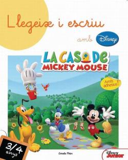 Llegeix i escriu amb Disney! 3-4 anys