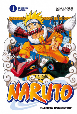 Naruto Catala Nº01/72 (Pda)